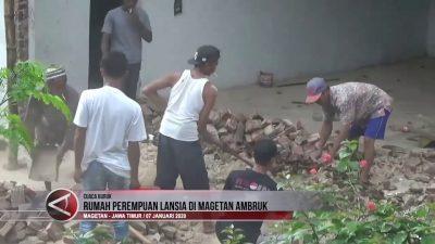 RUMAH PEREMPUAN LANSIA DI MAGETAN AMBRUK