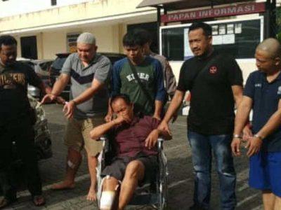 Polrestabes Semarang Ringkus Komplotan Pengganjal ATM