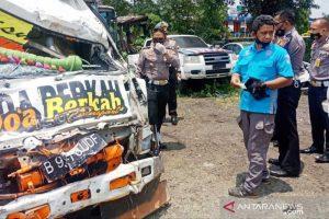 kecelakaan di Puncak Bogor