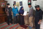 DPRD Kabupaten Semarang Santuni Keluarga Petugas Kebersihan Korban Kecelakaan
